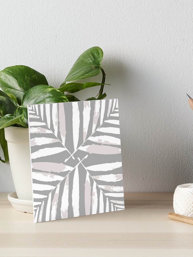 Geometric White Silver Light Grey Autumn Fall Tropical Pattern Palm Leaves Decor Redbubble Art Board Print By Printeddreams Redbubble Check out our tropical leaf decor selection for the very best in unique or custom, handmade pieces from our shops. geometric white silver light grey autumn fall tropical pattern palm leaves decor redbubble art board print by printeddreams redbubble