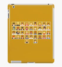 Select Your Character: KoF 98 The Slugfest iPad Case/Skin