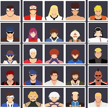 Select Your Character: KoF 98 Ultimate Match by flashkill455