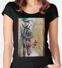 Tranquillity Women's Fitted Scoop T-Shirt