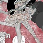 portrait of ballet dancer by jackpoint23