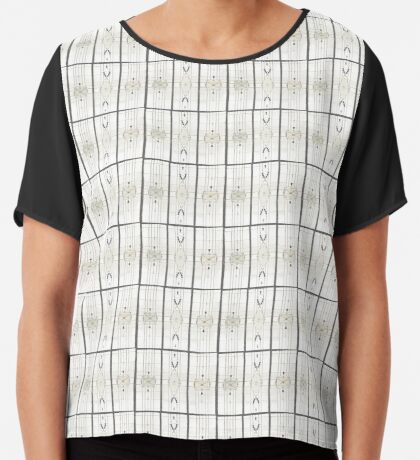 Cathedral - Sketch Chiffon Top