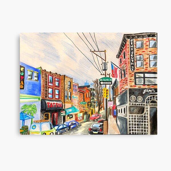 South Street Canvas Print