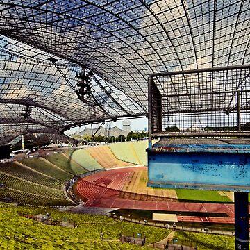 Olympiastadion (Olympic Stadium) Munich 1972 by heinrich