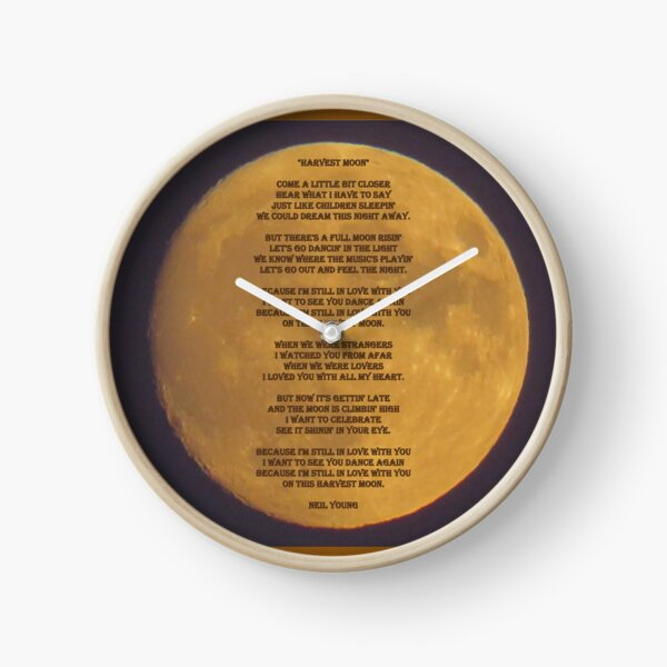 Neil Young Harvest Moon Reloj