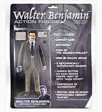 Walter Benjamin Action Figure Poster