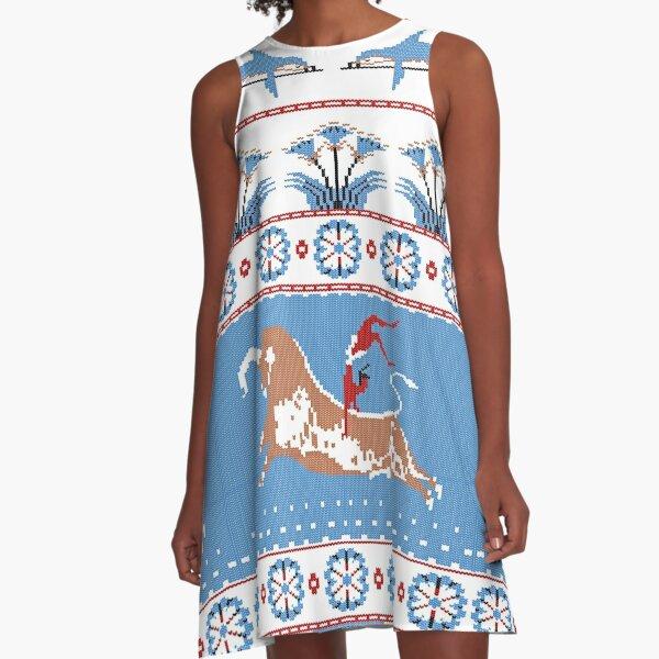 Ancient Knits - Minoan A-Line Dress