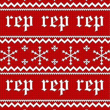 Reputation Christmas Sweater by alexshannon