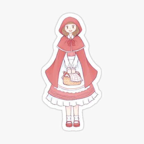 Pumpkin Fairytale: Little Red Riding Hood Sticker