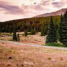 Boreas Pass in Fall HDR by Josh Dayton