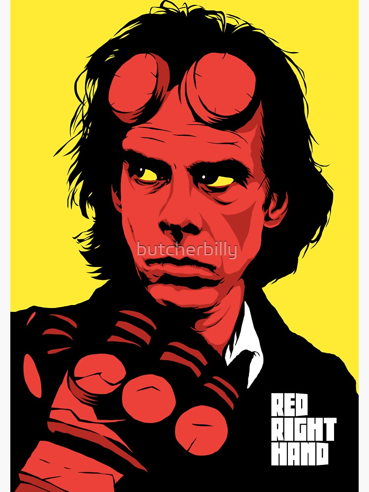 The Red Hand by butcherbilly