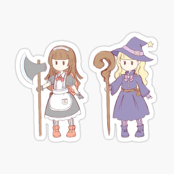RPG: Amelia and Charlotte Sticker