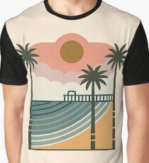 Der Pier Grafik T-Shirt