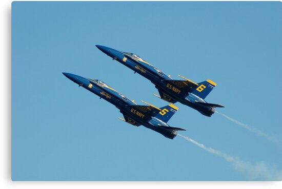 Blue Angels by Ernie Lopez