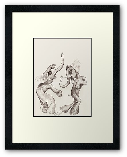 Elephant Dance by Kat Anderson