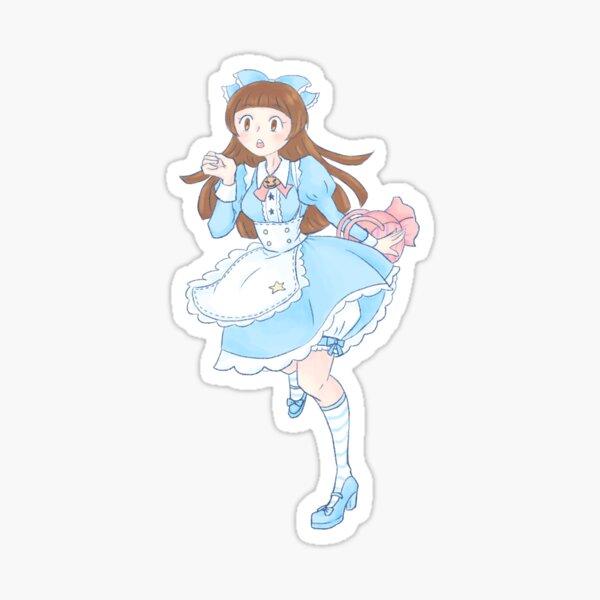 Pumpkin Fairytale: Alice Sticker