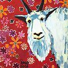 Liberty Goat by AMOpainting