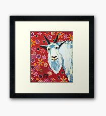 Liberty Goat Framed Print