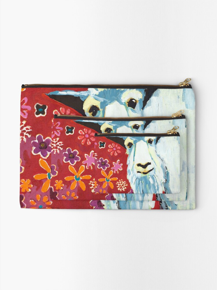 Alternate view of Liberty Goat Zipper Pouch