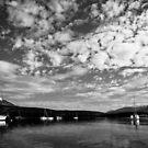 Boats at Frisco Marina by Josh Dayton