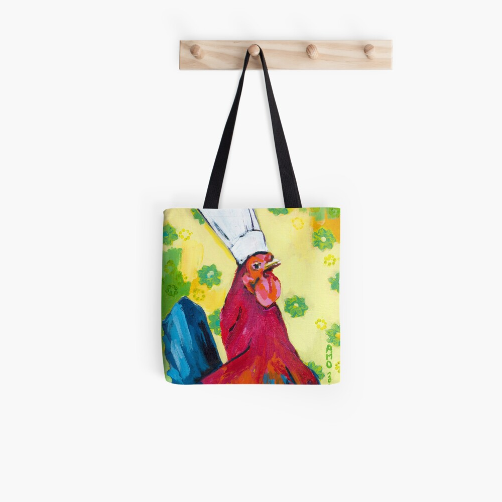 Rooster Chef Tote Bag