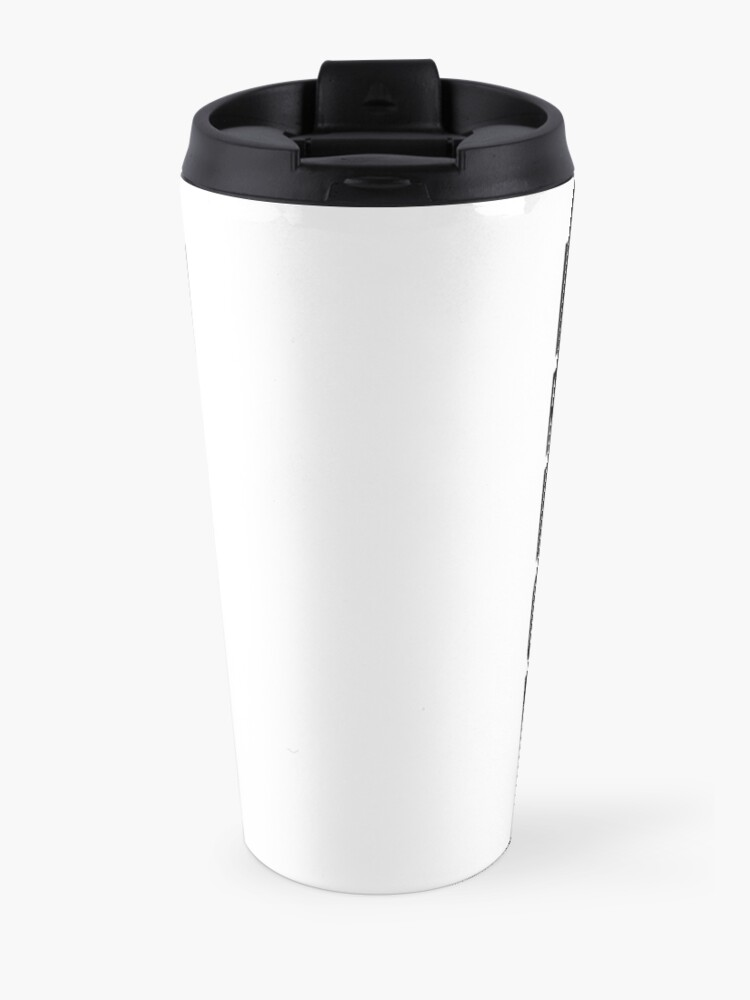 Alternate view of Can you read this? Travel Mug