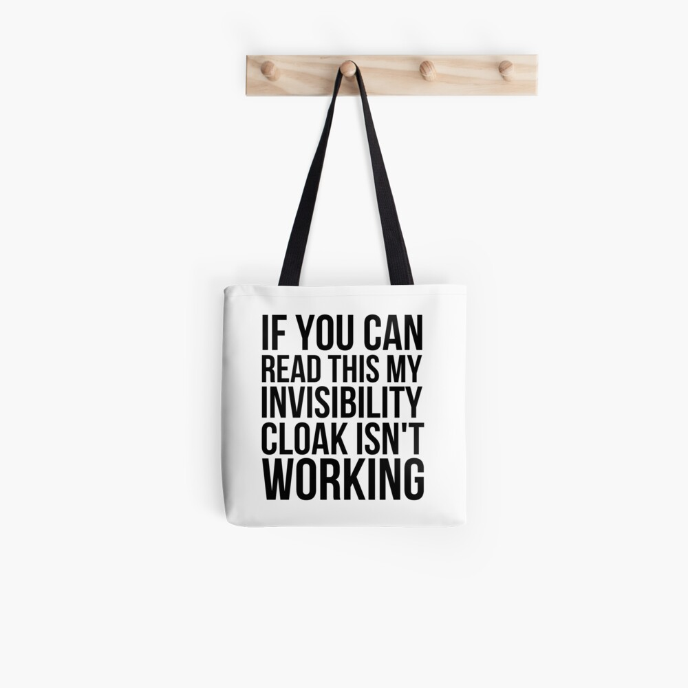Can you read this? Tote Bag