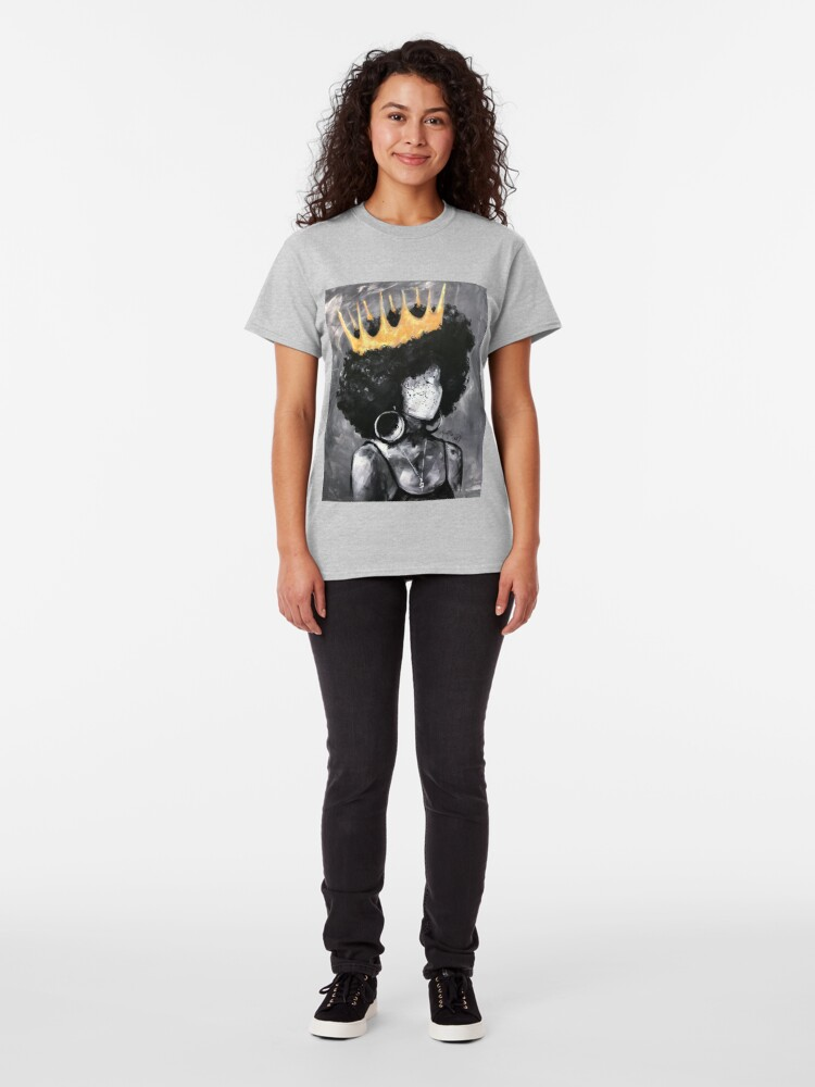 Alternate view of Naturally Queen II Classic T-Shirt