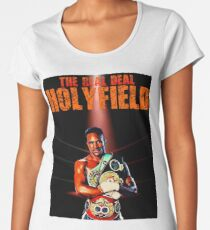 4302b9aca Camiseta clásica Mike Tyson. Camiseta premium para mujer Evander Holyfield