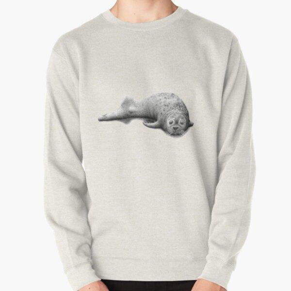 seal foot Pullover Sweatshirt