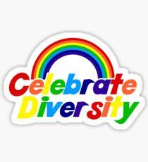 Vielfalt feiern Sticker