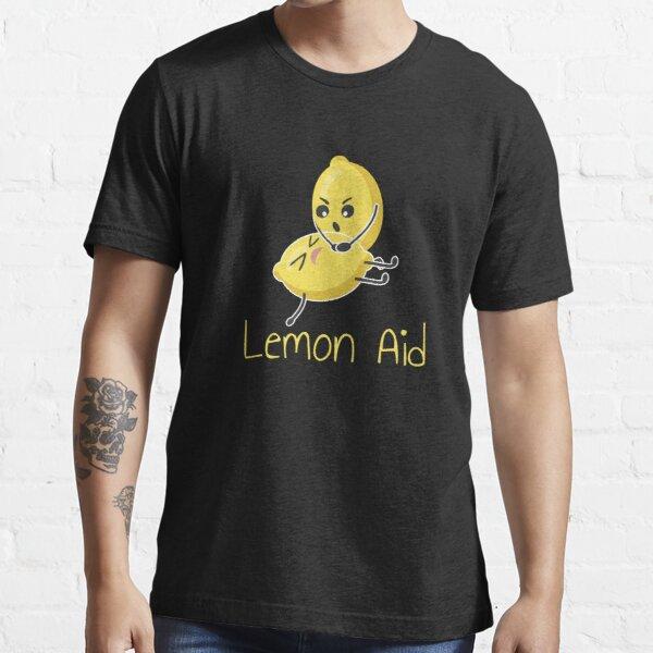 Funny LemonAid - Lemon First Aid Pun Joke Essential T-Shirt