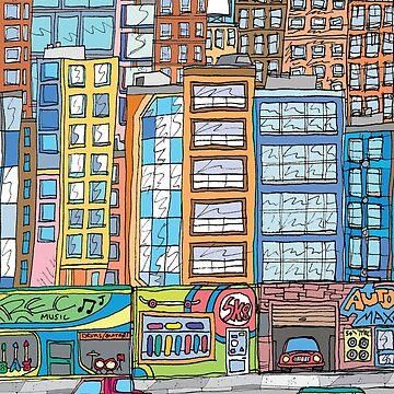 CITYSCAPE 2 by DARCNITEZ