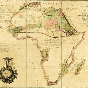 Map of Africa by Aaron Arrowsmith (1802) by allhistory