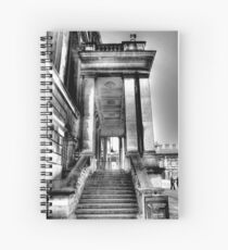 Steps to the Painted Hall Spiral Notebook