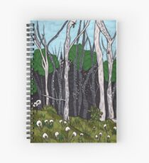 Sacred Earth Spiral Notebook