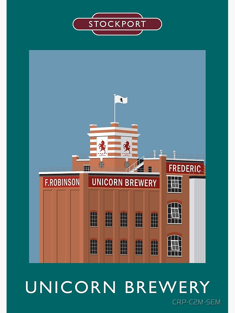 STOCKPORT - Unicorn Brewery by CRP-C2M-SEM