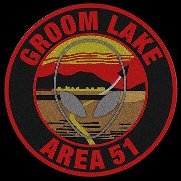 GROOM LAKE AREA 51 by PapaSquatch