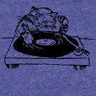 DJ Cat by Birgit Schiffer