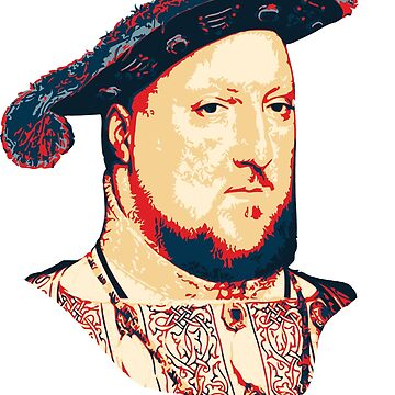Henry VIII Pop Art by idaspark