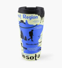 Minnesota National Parks Infographic Map  Travel Mug
