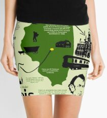 Illinois National Park Infographic Map  Mini Skirt