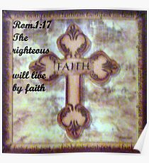 LIVING BY FAITH Poster