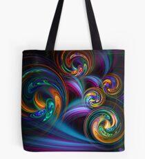 Taffy Swirls Tote Bag