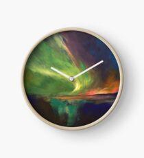 Aurora Borealis Clock