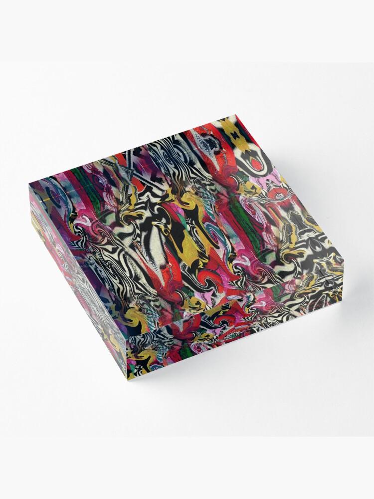 Alternate view of Zebra Dream Acrylic Block