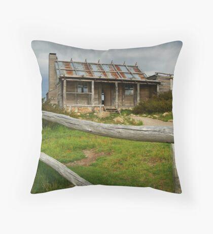 Craigs Hut  Throw Pillow