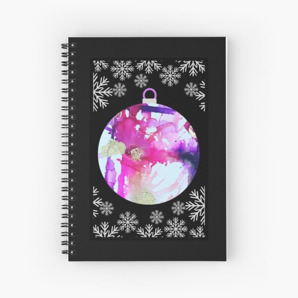 Christmas? You got this in Silver Spiral Notebook