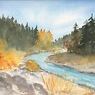 Pacific NW Gold by Diane Hall