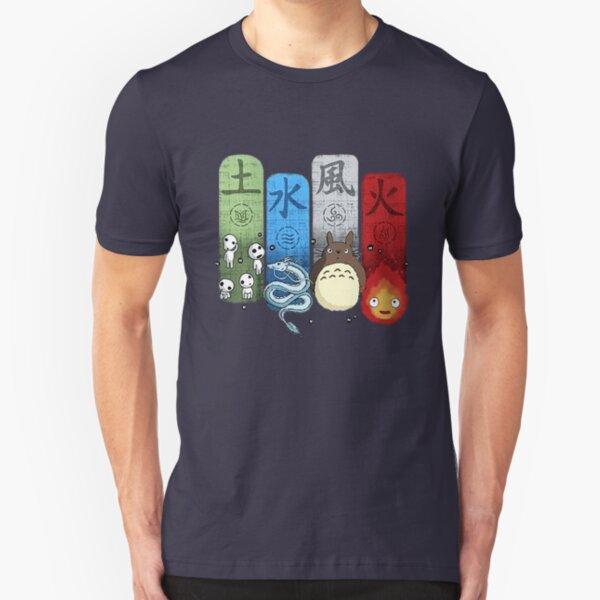 Ghibli Studio Slim Fit T-Shirt